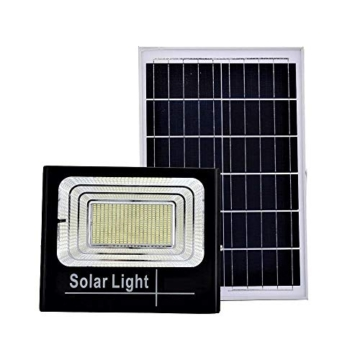 Faro LED SMD 200 W pannello solare energia crepuscolare telecomando DR - 1
