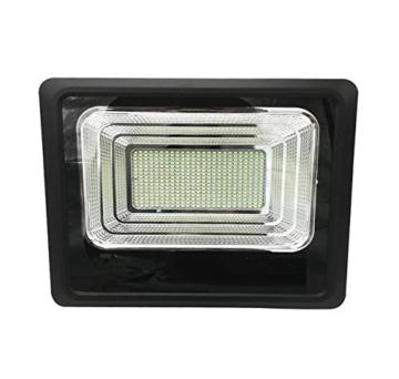 Faro LED SMD 200 W pannello solare energia crepuscolare telecomando DR - 3