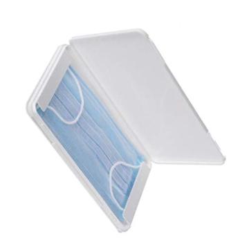 FVE Contenitore per mascherine Antipolvere e Cosmetici,per la prevenzione dell'inquinamento Bianco Non compresi Maschera (1 PCS) - 11