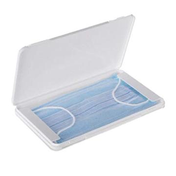 FVE Contenitore per mascherine Antipolvere e Cosmetici,per la prevenzione dell'inquinamento Bianco Non compresi Maschera (1 PCS) - 1