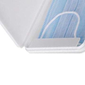 FVE Contenitore per mascherine Antipolvere e Cosmetici,per la prevenzione dell'inquinamento Bianco Non compresi Maschera (1 PCS) - 6