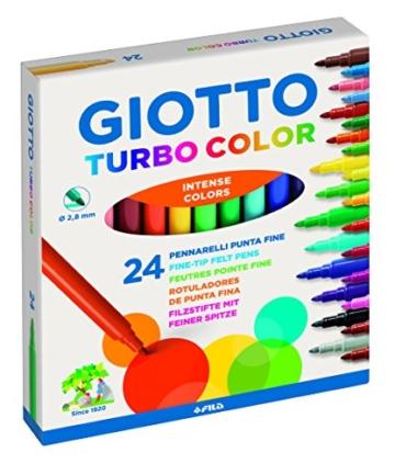 Giotto, 24 Pennarelli Giotto Turbo - 1