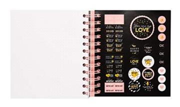 Grupo Erik ADPM2002- Diario Scuola Giornaliero 2020/2021, 11 mesi, 14x16 cm - Glitter, Special Edition - 5