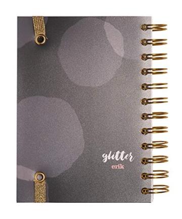 Grupo Erik Diario Scuola Giornaliero 2020/2021, 11 mesi, 11,4x16 cm - Glitter - 4