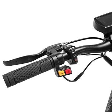 Kugoo Monopattino Elettrico Adulti G2 PRO, E-Scooter Pieghevole Motore 500W,velocità Massima 50km/h,10 Pollici Pneumatici Fuoristrada, Super LCD Display,Freno Doppio, Fari a LED per Sicurezza. - 3