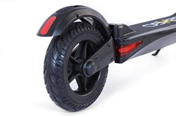 Lexgo R8 Lite monopattino elettrico pieghevole motore 250W 3 velocità batteria 5A freno elettrico/meccanico - 9