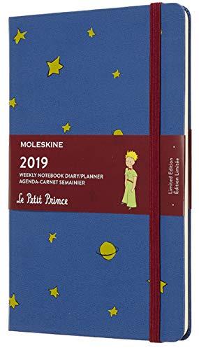 Moleskine 2019 Agenda Settimanale Le Petit Prince 12 Mesi, con Spazio per Note, in Edizione Limitata, Large, Blu di Anversa - 1