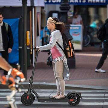 Monopattino Elettrico Scooter Pieghevole per Adulto velocità Massima 25km/h 350W, 40-45 Km di Autonomia, Pneumatico a Prova di Esplosione da 10 Pollici - 7