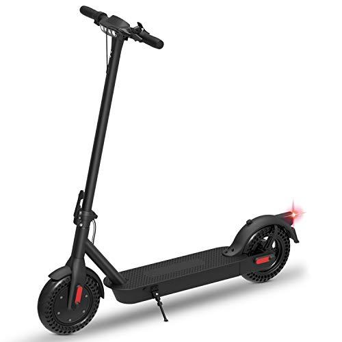 Monopattino Elettrico Scooter Pieghevole per Adulto velocità Massima 25km/h 350W, 40-45 Km di Autonomia, Pneumatico a Prova di Esplosione da 10 Pollici - 1