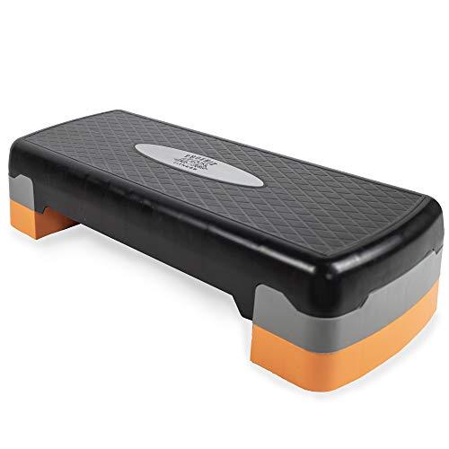 Phoenix Fitness Regolabile per Aerobica, Yoga, Palestra, Esercizi Stepper Board - 1