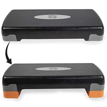 Phoenix Fitness Regolabile per Aerobica, Yoga, Palestra, Esercizi Stepper Board - 6