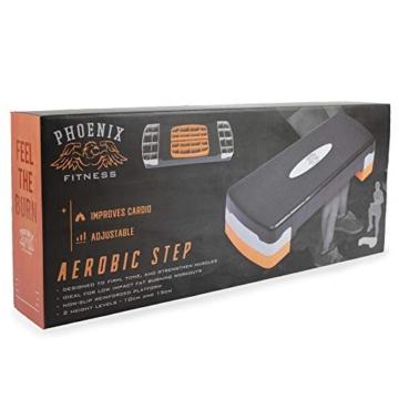 Phoenix Fitness Regolabile per Aerobica, Yoga, Palestra, Esercizi Stepper Board - 7