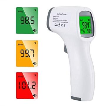 ROXTAK Termometro Frontale, Letture istantanee Accurate, Termometro Digitale a infrarossi Professionale Senza Contatto, per Neonati, Bambini, Adulti - 1