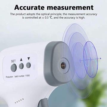 ROXTAK Termometro Frontale, Letture istantanee Accurate, Termometro Digitale a infrarossi Professionale Senza Contatto, per Neonati, Bambini, Adulti - 6