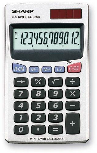 Sharp EL 379 Sb Calcolatrice Tascabile - 1