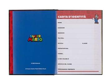 Super Mario - Diario 2020/2021 12 Mesi - Blu - Standard - 2