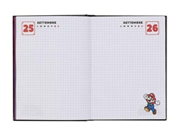 Super Mario - Diario 2020/2021 12 Mesi - Blu - Standard - 3