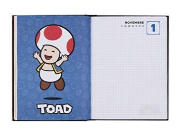 Super Mario - Diario 2020/2021 12 Mesi - Blu - Standard - 4
