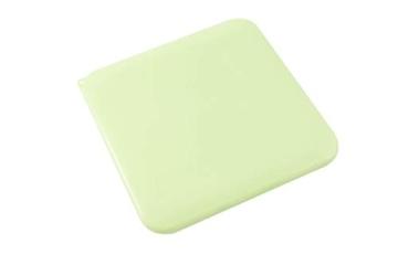 TBOC Custodia per Mascherina - Scatola Quadrata [Verde] Portaoggetti per Maschere Organizzatore Portatile in Plastica Rigida per Mask Monouso Leggero e Riutilizzabile per Proteggere da Polvere Sporco - 2