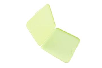 TBOC Custodia per Mascherina - Scatola Quadrata [Verde] Portaoggetti per Maschere Organizzatore Portatile in Plastica Rigida per Mask Monouso Leggero e Riutilizzabile per Proteggere da Polvere Sporco - 4