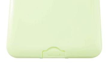 TBOC Custodia per Mascherina - Scatola Quadrata [Verde] Portaoggetti per Maschere Organizzatore Portatile in Plastica Rigida per Mask Monouso Leggero e Riutilizzabile per Proteggere da Polvere Sporco - 5