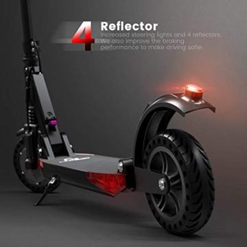 urbetter Monopattino Elettrico Scooter Pieghevole per Adulto velocità Massima 30kmh 350W Pneumatico a Prova di Esplosione da 8 Pollici, S1 PRO (A Nero) - 7