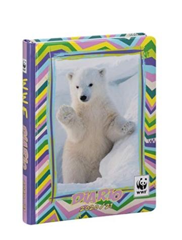 WWF - Diario 2020/2021 12 Mesi - Orso Bianco - Standard - 1