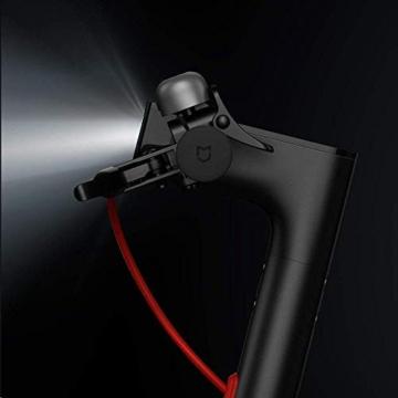 Xiaomi Mi Electric Scooter Monopattino Elettrico Pieghevole, 30 Km di Autonomia, Velocità fino a 25 Km/h, Versione Italiana, Nero - 6