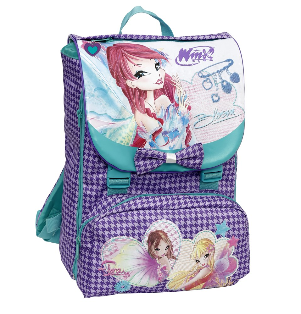 Zaino estensibile medium Winx