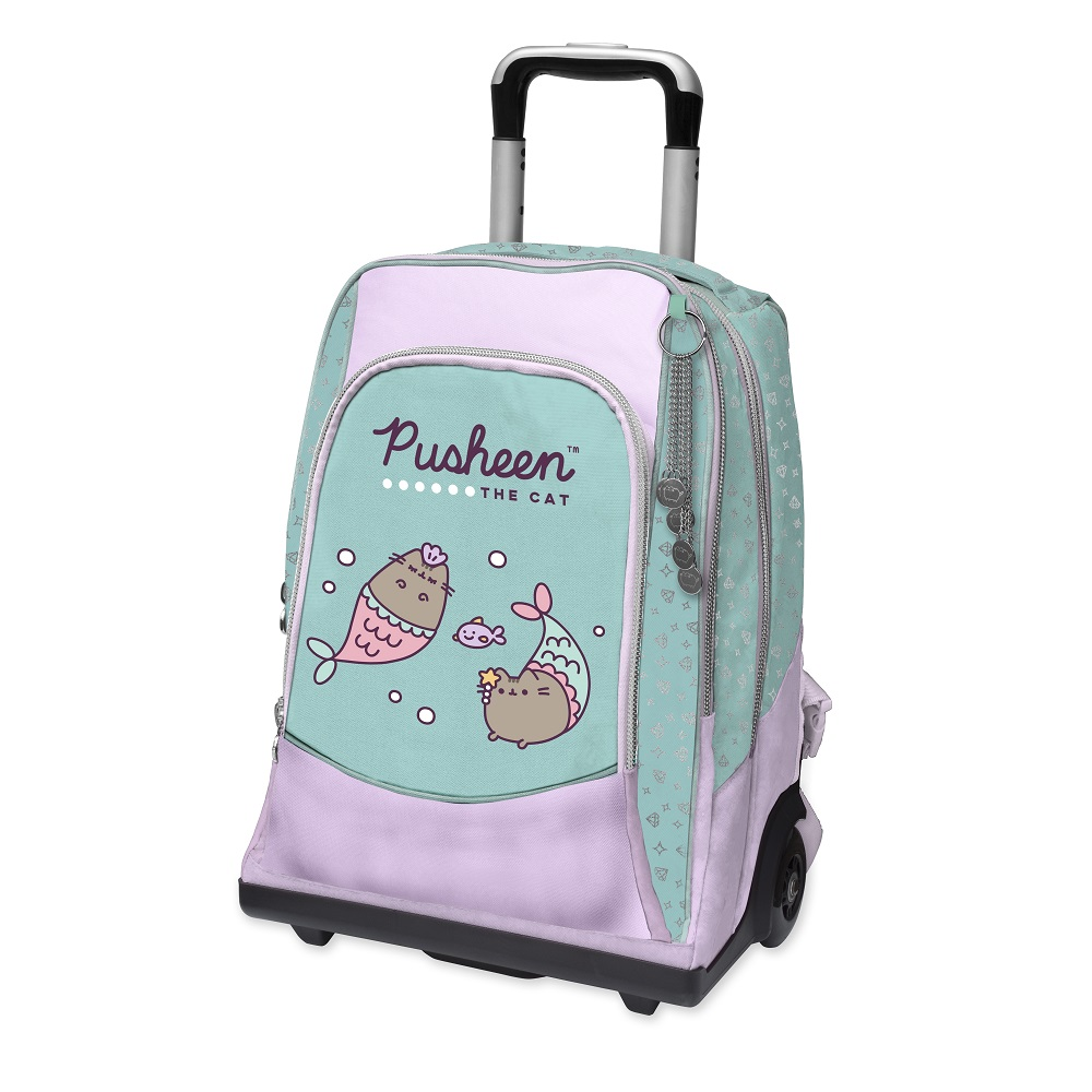 Zaino Trolley Pusheen Mermaid