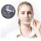 10 pezzi Visiera Bocca Paraschizzi Face Shield Trasparente Coperchio Antinebbia Proteggi Gli Occhi e Il Viso per Cucina da all'aperto,Antisputo e Anti Spruzzo - 1