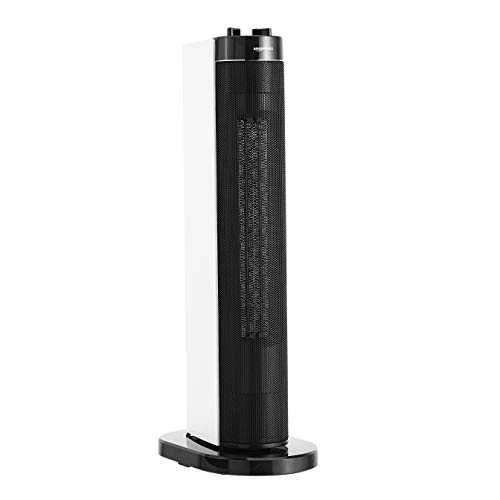 AmazonBasics - Stufetta elettrica oscillante a torre, 2 impostazioni di calore, 2000 W - 1