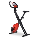 Autoshoppingcenter Cyclette Magnetica Pieghevole da Casa Gym con Seduta Regolabile Home Trainer F-Bike Display LCD Bici Fitness F-Bike Cardio per Donna Uomo [EU Stock] - 1