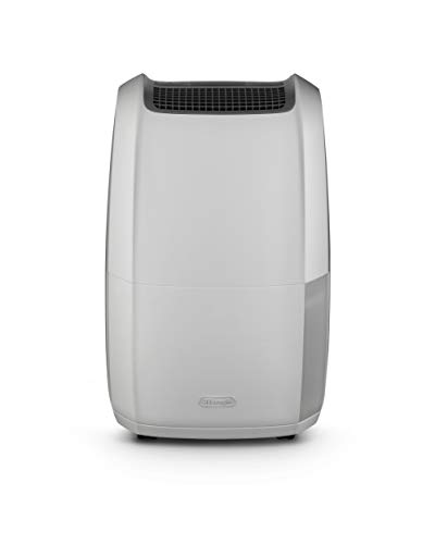 De'Longhi DDSX225 Tasciugo AriaDry Deumidificatore Ambiente Casa, 446 W, 25 Litri, 44 Decibel, Plastica, Bianco - 1