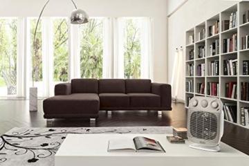 De'Longhi HFS50D22 Termoventilatore Vertical Edge, 2200 W, Plastica, Bianco/Beige - 4