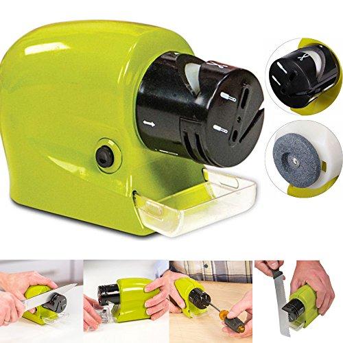 DOBO® Affila coltelli elettrico arrota mola lame coltelli forbici cacciavite affilatore utensili a Batterie - 1