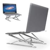 """【2020 nuovo】Supporto PC Portatile supporto per tablet Supporto per Laptop Angolazione Regolabile Porta Notebook Pieghevole Supporto per MacBook Air/PRO, dell, XPS, HP, Lenovo And Other 10""""–15"""" Laptops - 1"""
