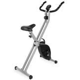 EVOLAND Cyclette da Allenamento, Home Trainer Bicicletta da Fitness S-Bike Cyclette Macchine per Training Aerobico Fitness e X-Bike, 120 kg capacità - 1