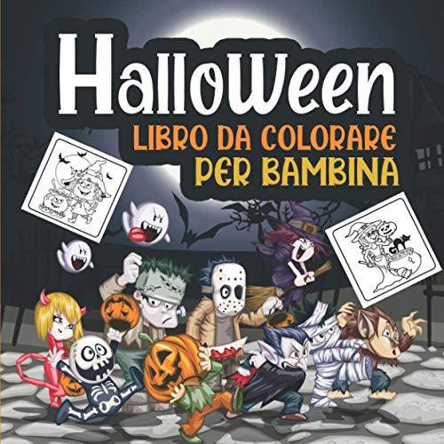 Halloween libro da colorare per bambini: Una raccolta di 30 pagine da colorare per Halloween! Divertenti e spettrali per bambini di tutte le età ... un'idea regalo perfetta per Halloween - 1