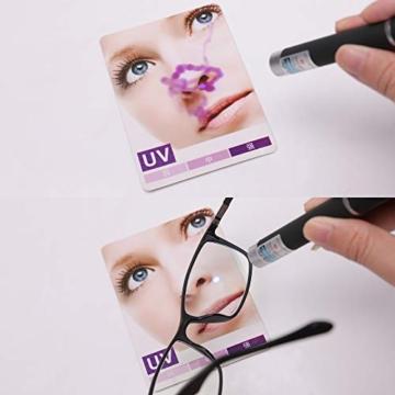 JAVIOL Occhiali Anti Luce Blu per Computer TR90 occhiali da gioco nero per PC/Telefono/Pad/TV, Anti-abbagliamento/Anti-Affaticamento/Evita Mal di Testa Aaffaticamento degli Occhi - 4