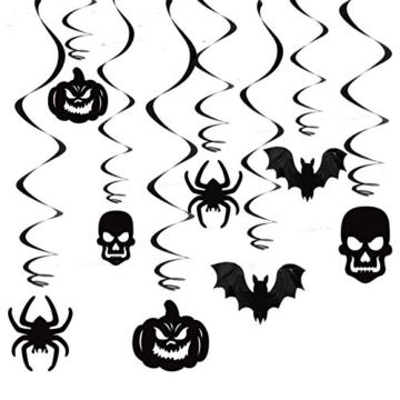 JOYIN Halloween Party Decorazione Casa Kit Haunted House Chandelier Addobbi Set di Decorazioni da Appendere al Soffitto e Applique da Parete - 3