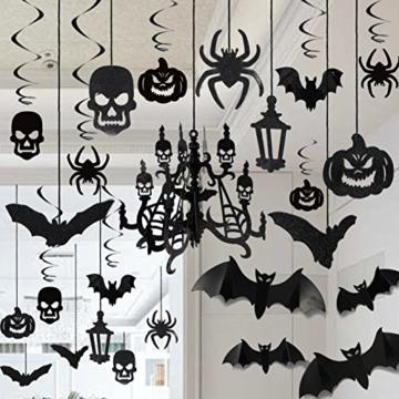 JOYIN Halloween Party Decorazione Casa Kit Haunted House Chandelier Addobbi Set di Decorazioni da Appendere al Soffitto e Applique da Parete - 1