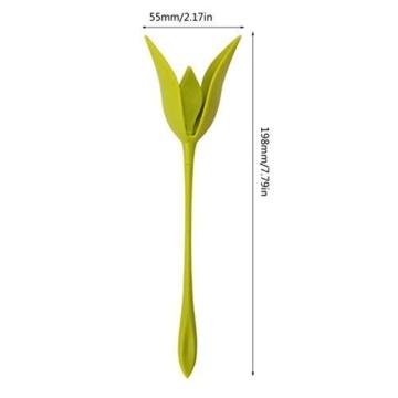 Katherinabait portatovaglioli Portatovaglioli Fiori Floral Flower Napkin Holder,16pcs Portatovaglioli a Forma di Fiore - 5
