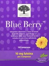 New Nordic Blue Berry Integratore Alimentare Utile per la Funzione Visiva - 120 Compresse - 1