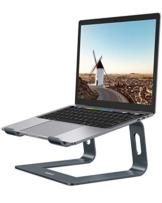 """Nulaxy Supporto per Laptop, Supporto per Computer Portatile in Alluminio Regolabile, Laptop Staccabile Compatibile con MacBook Air PRO, dell XPS, HP, Lenovo Altro 10-15.6"""" Laptop-Spazio Grigio - 1"""
