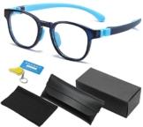 Occhiali Anti Blu per Bambini, TR90 Montatura, Occhiali per Computer, Filtro Luce Blu, Anti raggi UV Occhiali per PC, Occhiali Protettivi Luce Blu per Videogiochi per Bambini, Trasparente Lente - 1