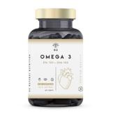 Omega 3 Fish Oil 2000mg, 700 mg EPA et 500 mg DHA. Natural Olio di pesce con Vitamina E. Aiuta a Migliorare e Proteggere la Vista, il Cervello e il Cuore. 120 Capsule N2 Natural Nutrition - 1