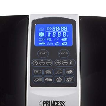 Princess Friggitrice ad Aria Calda XL 182020, 1500 W, 3.2 Litri, Plastica-BPA Free, Nero/Argento - 3