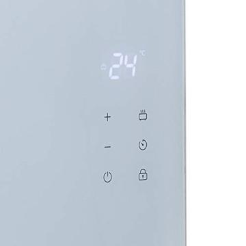 Princess Termoconvettore Vetro Smart 341501 - Controllo con App - 1500 W – Bianco - 10