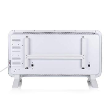 Princess Termoconvettore Vetro Smart 341501 - Controllo con App - 1500 W – Bianco - 3